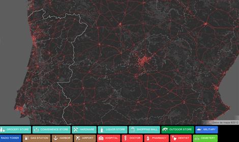 España segun http://mapofthedead.com/